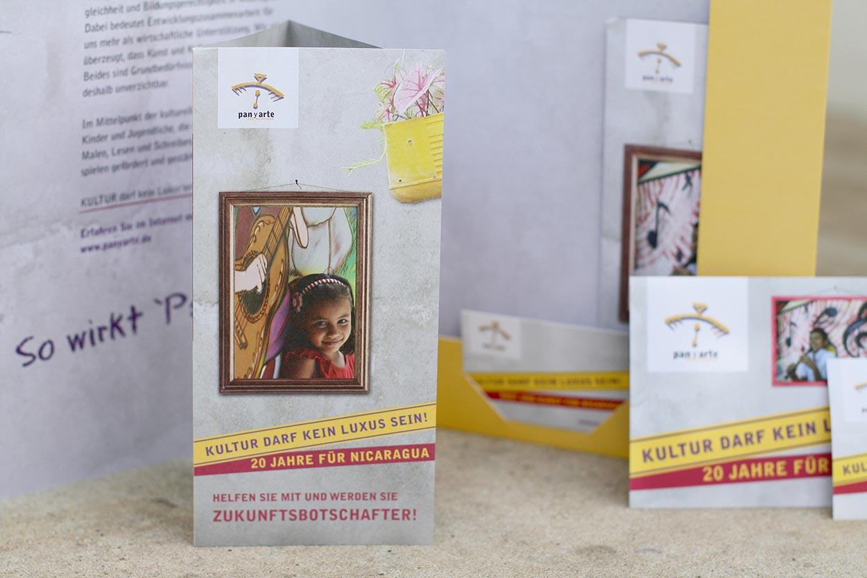 Spendenkampagne Pan y Arte