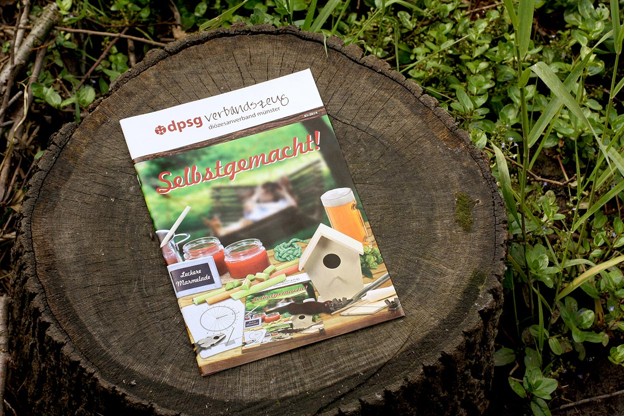 """Magazin """"verbandszeug"""" dpsg Münster"""