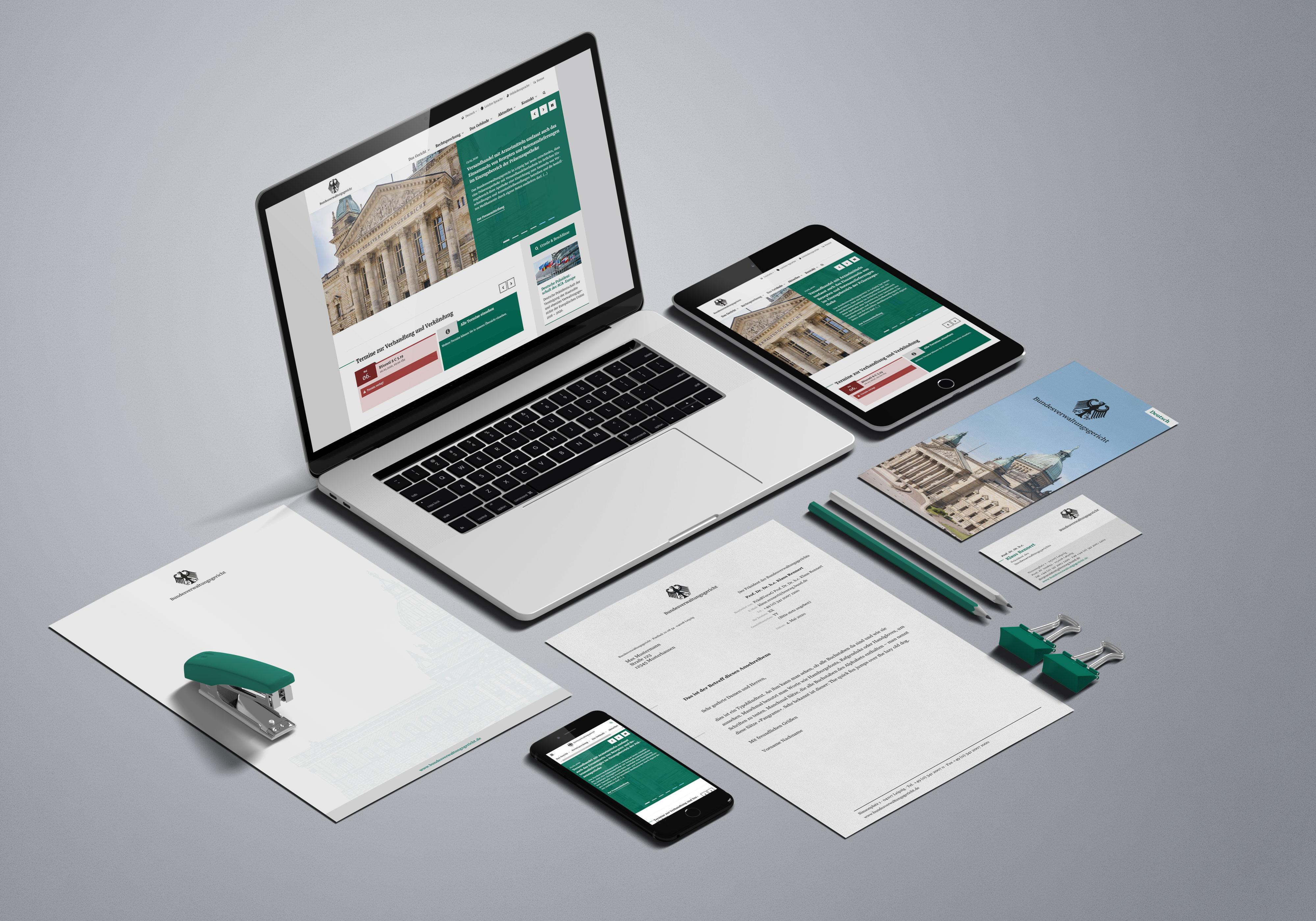 Corporate Design Bundesverwaltungsgericht