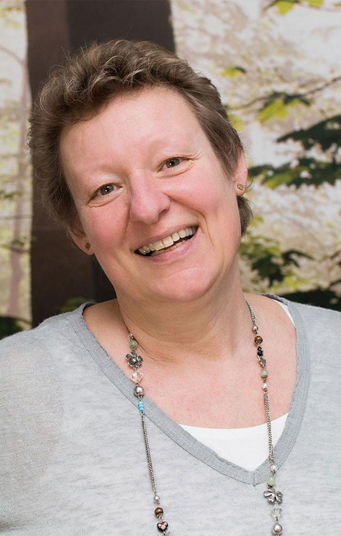Brigitte Domikowsky – fröhlich